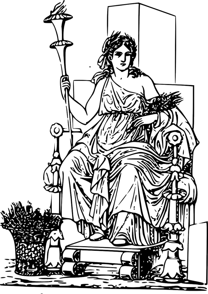 Demeter in Ceres