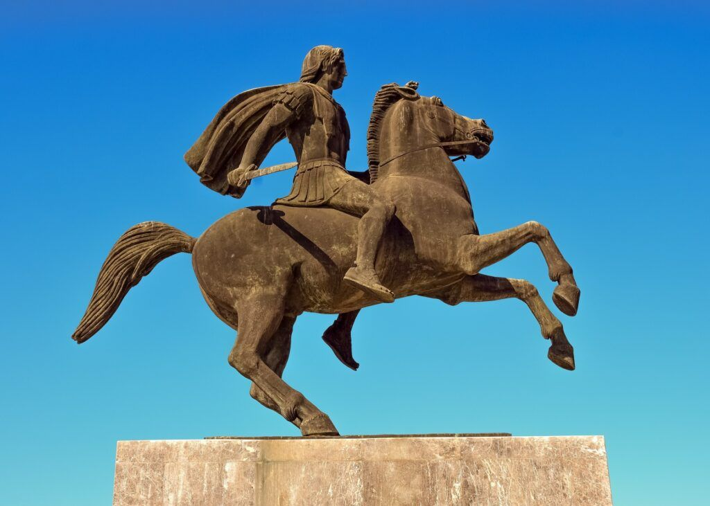 Statue of Alexander the Great, Thessaloniki