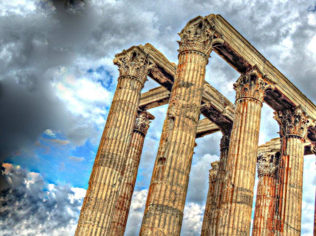 Temple of Zeus Ruins, Athens