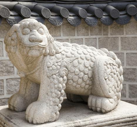 Haetae - mythological goat-lion beast