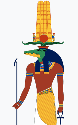 Typical Depiction of Sobek