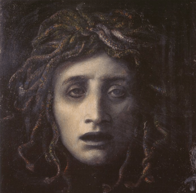 Medusa - Arnold Bocklin (1878)