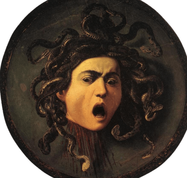 Medusa - Caravaggio (1595)