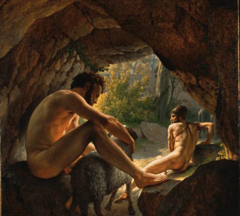 Polyphemus and Odysseus