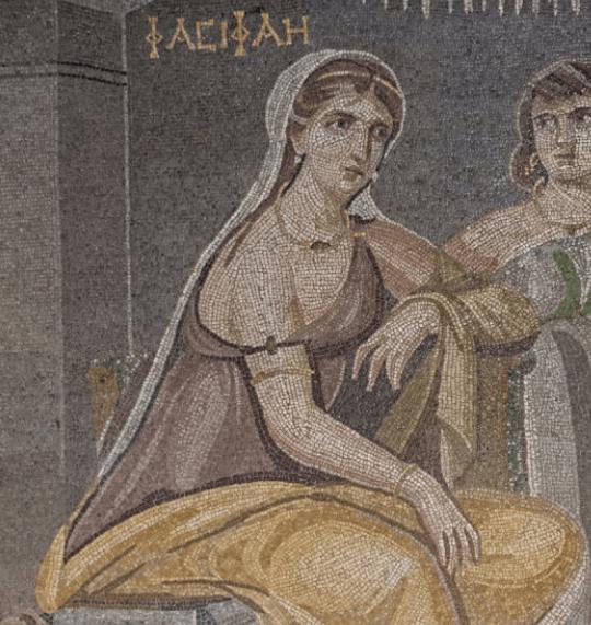 Mosaic of Pasiphae in the Gaizantep Museum, Turkey