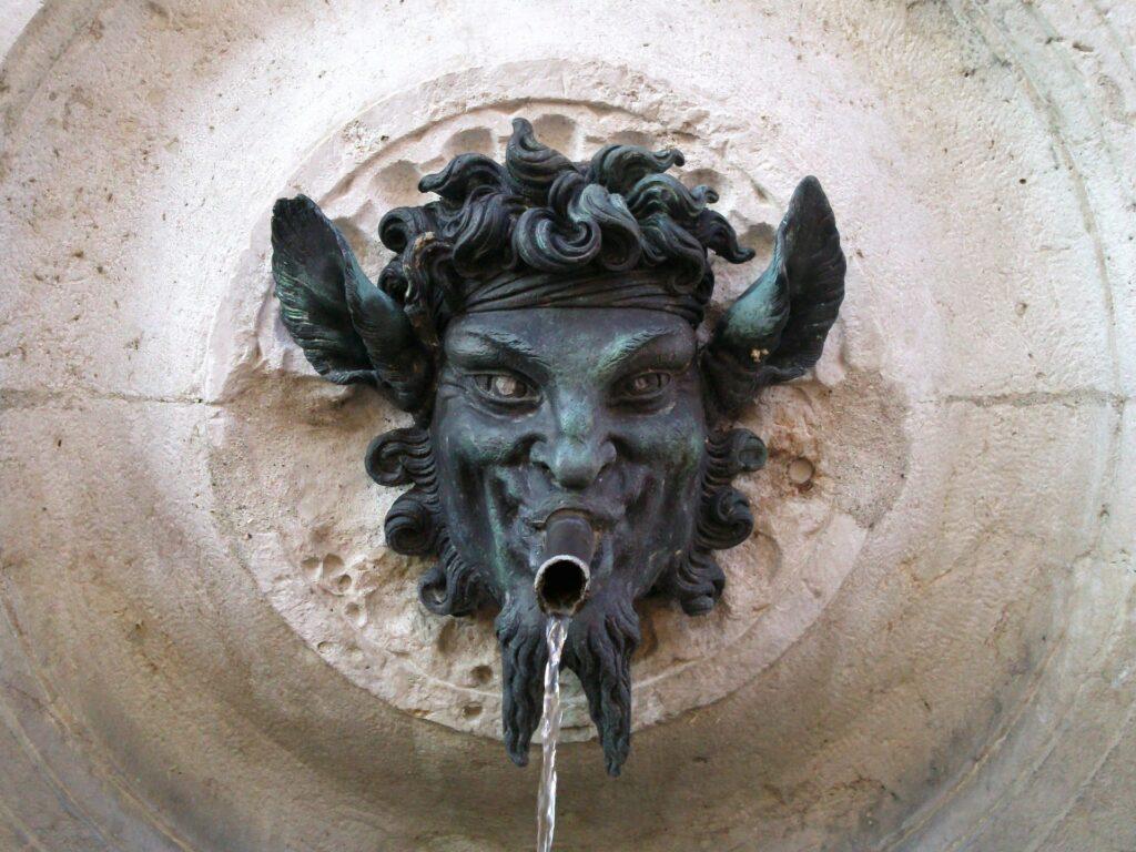 Satyr Fountain Sculpture