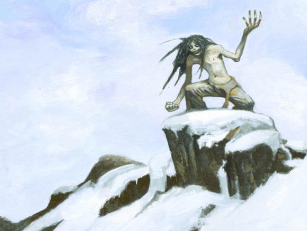 The Mahaha - An Inuit Mythology Demon