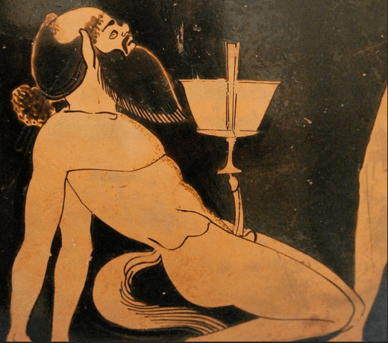 Typical Depiction of a Satyr