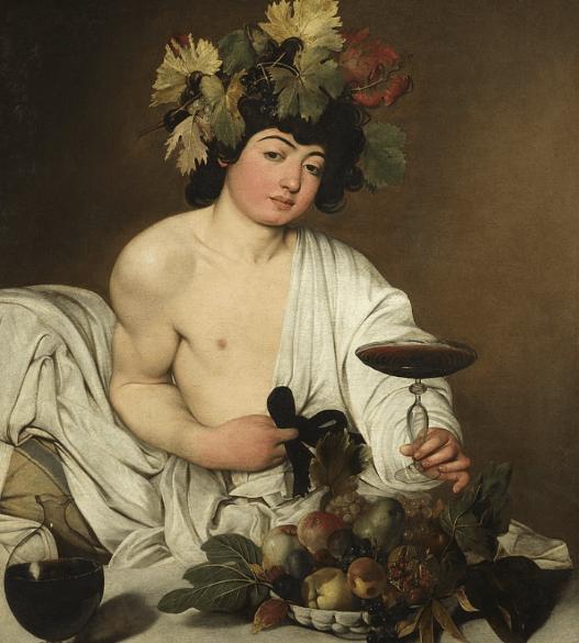 Bacchus - Caravaggio (1598)