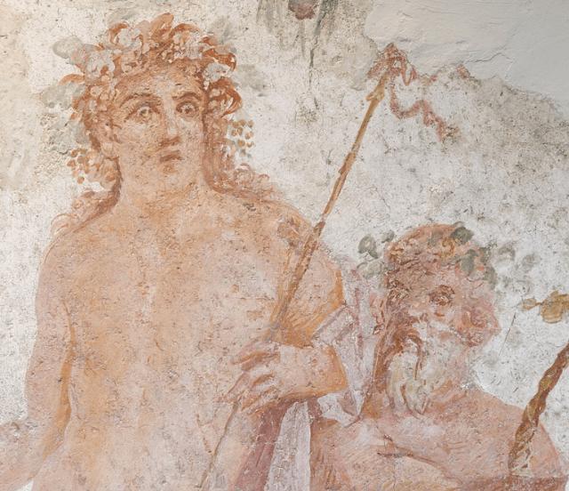 Roman Fresco of Bacchus (Dionysus)