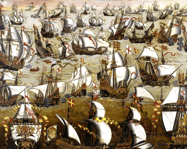 Mother Shipton predicted the invasion of the Spanish Armada