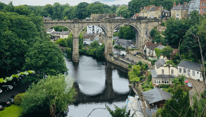 Mother Shipton's Cave is located in Knaresborough