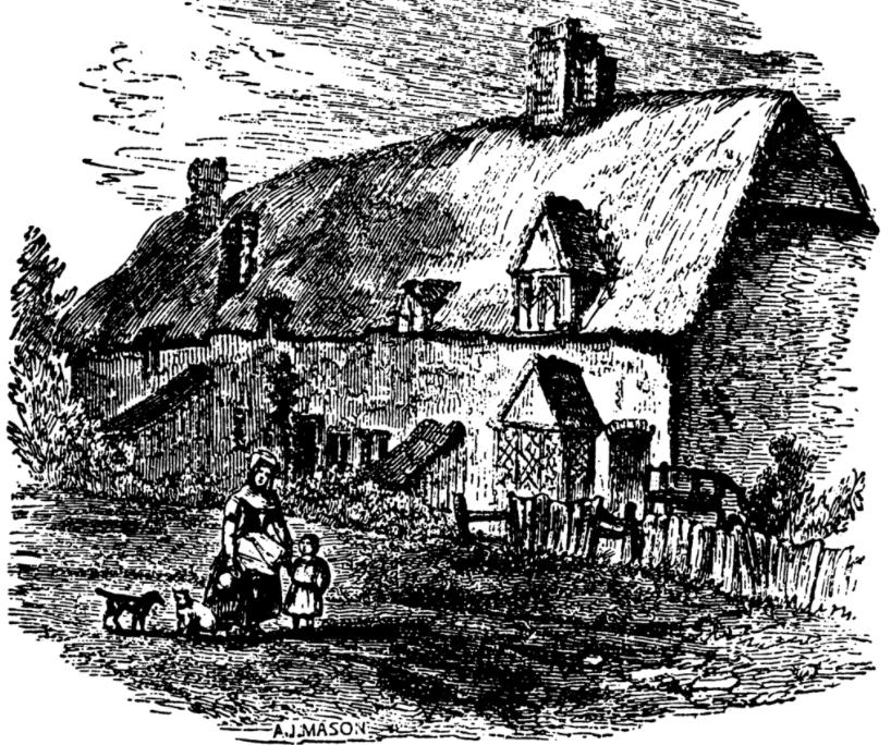 Mother Shipton's house in Knaresborough, North Yorkshire