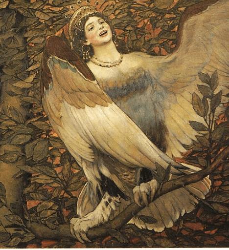 The Alkonost - Viktor Vasnetsov (1896)