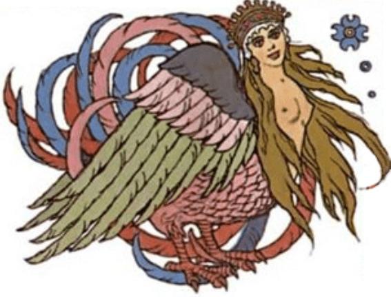 What is the Alkonost - Slavic mythology