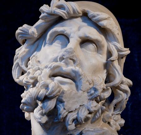 A bust of Odysseus