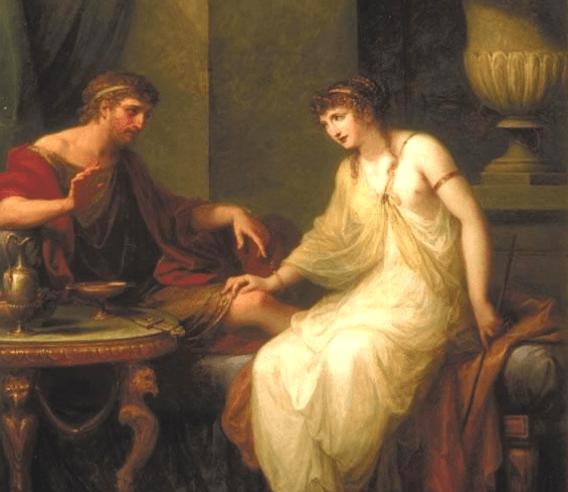 Circe and Odysseus - Angelica Kauffman (1786)