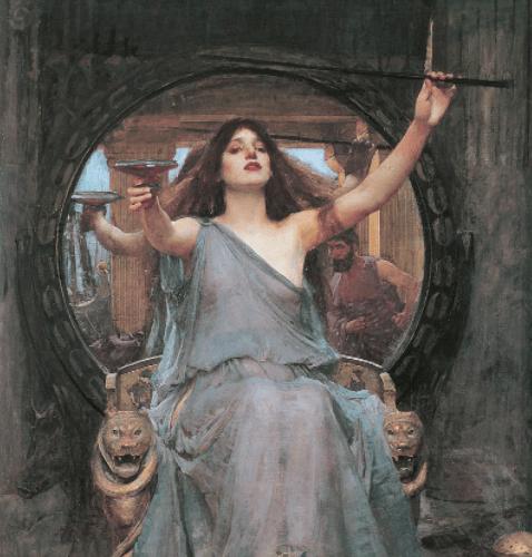 How does Circe help Odysseus