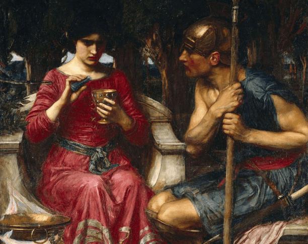 Jason and Medea - John William Waterhouse (1907)