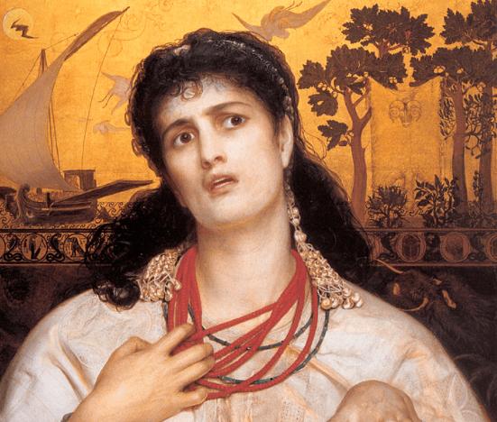 Medea - Frederick Sandys (c. 1867)