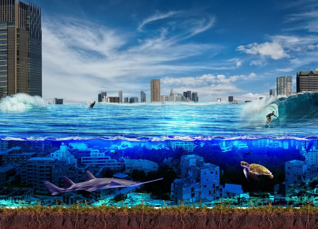 Some say there is a city submerged in the Semerwater