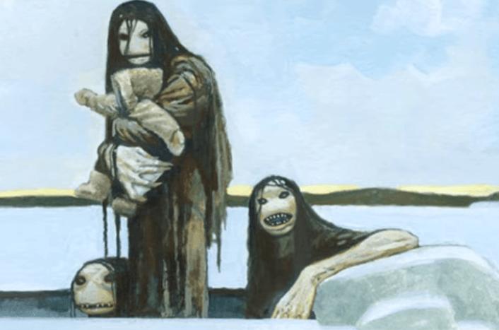 What is the Qallupilluit - Inuit Mythology